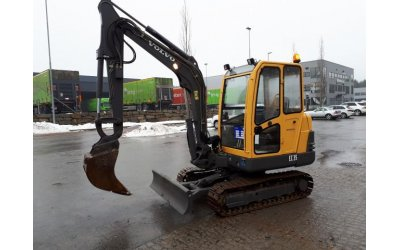 Mini escavatore volvo ec35