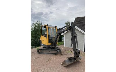 Mini escavatore volvo ec20b