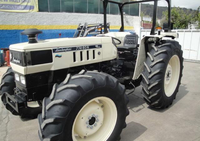 Trattore gommato usato lamborghini 774 80 dt for Vigolo macchine agricole