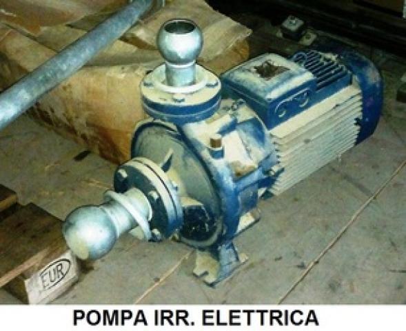 Pompa irrigazione elettrica usata for Pompa irrigazione