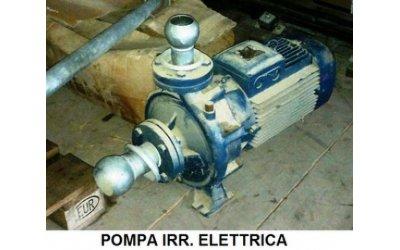 Pompa irrigazione elettrica...