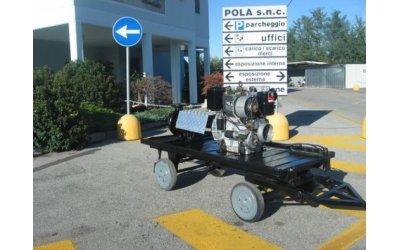 Motopompa per irrigazione...
