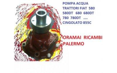 Pompa acqua trattori fiat 580...